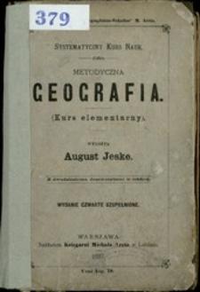 Metodyczna geografia : (kurs elementarny)