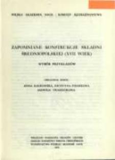 Zapomniane konstrukcje składni średniopolskiej (XVII wiek) : wybór przykładów