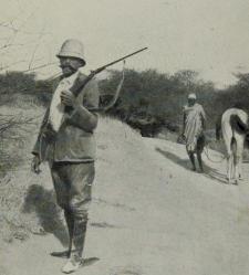 [Ś.p. Jan Sztolcman podczas wyprawy do Afryki] [Dokument ikonograficzny]