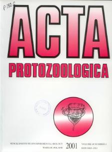 Acta Protozoologica Vol. 40 Nr 4 (2001)