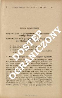 Systematyka i geograficzne rozmieszczenie rodzaju Budytes Cuv.