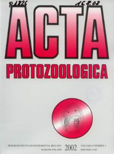 Acta Protozoologica Vol. 41 Nr 3 (2002)