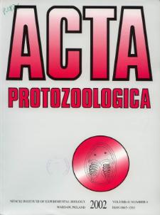 Acta Protozoologica Vol. 41 nr 4 (2002)