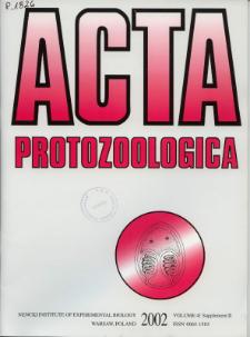 Acta Protozoologica Vol. 41 Suppl. 2 (2002)