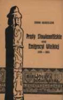 Prądy słowianofilskie wśród Emigracyi Wielkiej 1830-1863