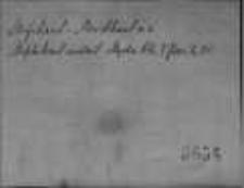 Kartoteka Słownika staropolskiego; MIFIBAAL-MNIE