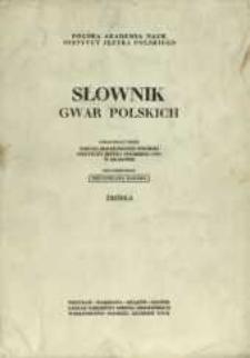 Słownik gwar polskich : źródła