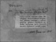 Kartoteka Słownika staropolskiego; OBLICZANIE-OĆWIRDZIĆ
