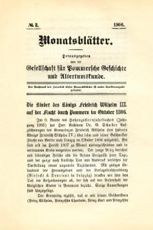 Monatsblätter Jhrg. 20, H. 3 (1906)