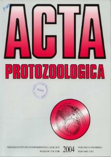 Acta Protozoologica Vol. 43 Nr 1 (2004)