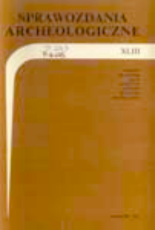 Analiza skupień w badaniach wczesnośredniowiecznych surowców garncarskich: przykład ceramiki sandomierskiej