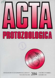 Acta Protozoologica Vol. 43 Nr 4 (2004)