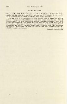 Book received. Untersuchungen zum Raum-Zeit-System freilebender Steinmarder (Martes foina Erxleben, 1777)