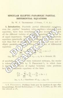 Singular elliptic-parabolic partial differential equations