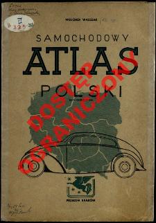 Samochodowy atlas Polski : mapa orientacyjna