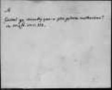 Aneks do Kartoteki Słownika staropolskiego; Materiał rękopiśmienny (uzupełnienie Słownika Lindego); A-GÓŹDŹ