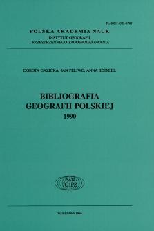 Bibliografia Geografii Polskiej 1990