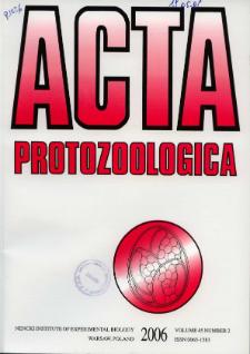 Acta Protozoologica Vol. 45 Nr 2 (2006)