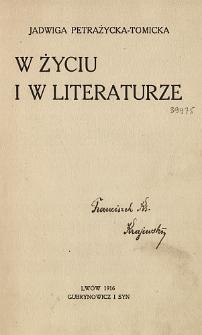 W życiu i w literaturze
