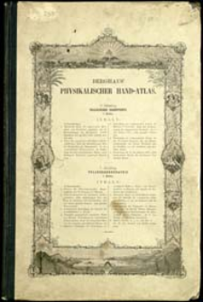 Dr Heinrich Berghaus' Physikalischer Atlas. Abt. 4, Tellurischer Magnetismus : in 5 Bättern
