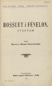 Bossuet i Fénelon : studyum