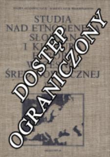 Studia nad etnogenezą Słowian i kulturą Europy wczesno-średniowiecznej. praca zbiorowa T. 2