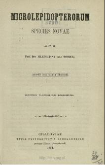 Microlepidopterorum species novae
