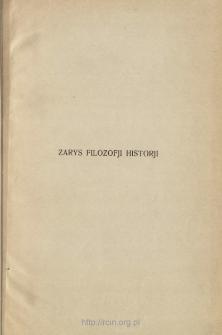 Zarys filozofji historji