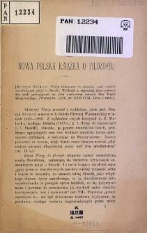 Nowa polska książka o filozofii