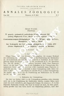 Zur Systematik der Untergattung Stictophytocoris Stichel, 1957 (Genus Phytocoris Fall., Hemiptera Heteroptera, Miridae)