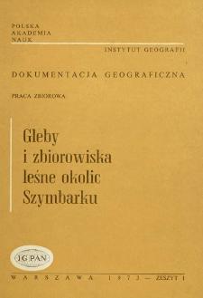 Gleby i zbiorowiska leśne okolic Szymbarku = Soils and forest plant communities of the vicinity of Szymbark