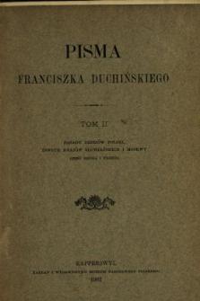 Pisma Franciszka Duchińskiego. T. 2.