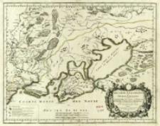 Tartarie Europeenne ou Petite Tartarie où sont Les Tartares Du Crim, ou de Perecop; De Nogais, D'Oczacow, et de Budziak