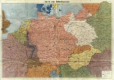 Karte von Mitteleuropa : [mapa polityczna]