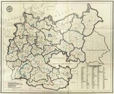 Karte des Deutschen Reiches : mit folgenden gebietlichen Einteilungen