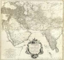 Erster Theil Der Karte Von Asien Welche Die Türkei. Arabien, Persien Indien Diesseits Des Ganges Und Einen Theil Der Tatarei enthält