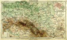 Schlesien : E. Debes Reliefkarte