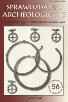 Pacior od wczesnośredniowiecznego relikwiarza — enkolpionu ze Srogowa Górnego, pow. Sanok