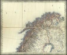 General-Karte von Europa in 25 Blättern. [Blatt] 3