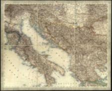 General-Karte von Europa in 25 Blättern. [Blatt] 18