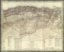 General-Karte von Europa in 25 Blättern. [Blatt] 22