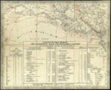 General-Karte von Europa in 25 Blättern. [Blatt] 25