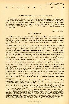 Kwartalnik Historyczny R. 69 nr 1 (1962), Miscellanea