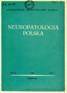 Neuropatologia Polska T.9 z.3 (1971)