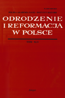 "De bonarum titterarum in theologiam reditu. Mikołaja Gerbela przedmowa do wydania ""Enchiridionu"" Erazma z 1515 roku"