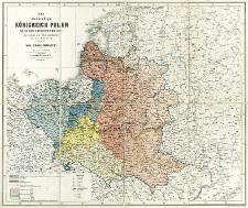 Das ehemalige Königreich Polen, nach den Grenzen von 1772 mit Angabe der Theilungslinien von 1772, 1793 & 1795