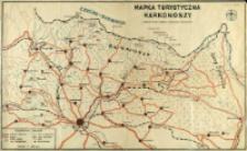 Mapka turystyczna Karkonoszy