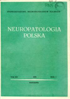 Neuropatologia Polska T.14 z.1 (1976)