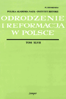 Szwedzka korespondencja Stanisława Lubienieckiego