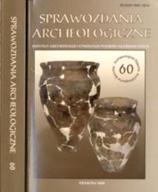 Sprawozdania Archeologiczne T. 60 (2008), Reviews